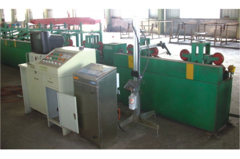 Eddy current testing machine